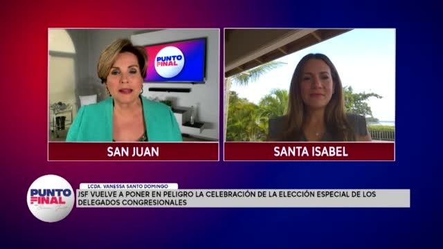 Punto Final Jsf Vuelve A Poner En Peligro La Celebración De La Elección Especial De Los Delegados Congresionales