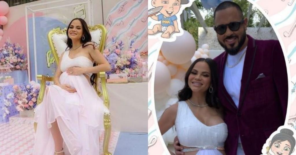 Natti Natasha Y Raphy Pina Celebraron Una Gran Fiesta Para Revelar El Sexo De Su Bebe