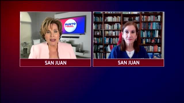 Punto Final Discutimos Con La Dra Carmen Zorilla Sobre Las Pocas Camillas Poco Personal Medico Y La Vacuna J&j En Las Embarazadas