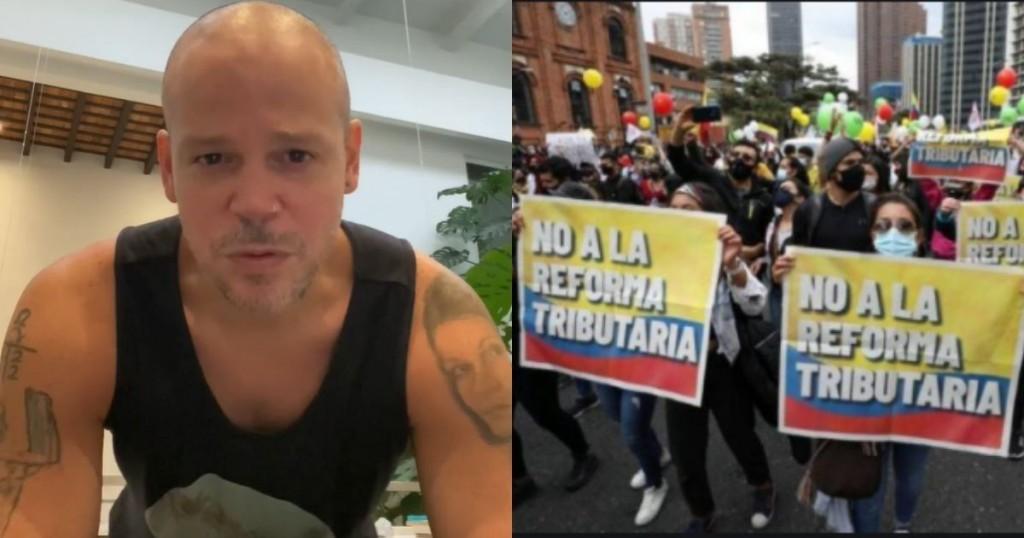 Residente Se Convirtio En Vocero Del Paro Nacional En Colombia