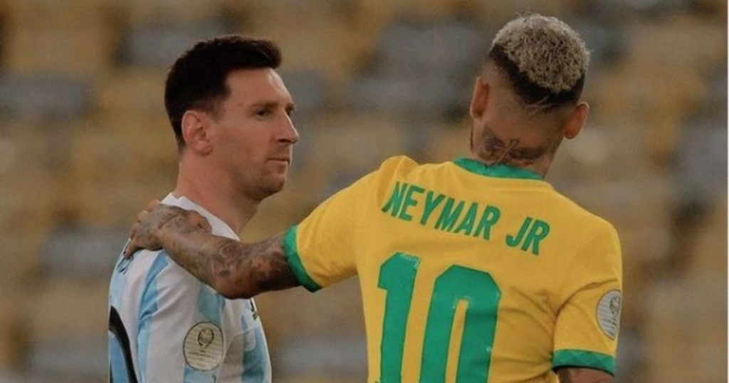 Lionel Messi Y Neymar Se Volvieron Tendencia Por Emotivo Momento Al Final De La Copa America