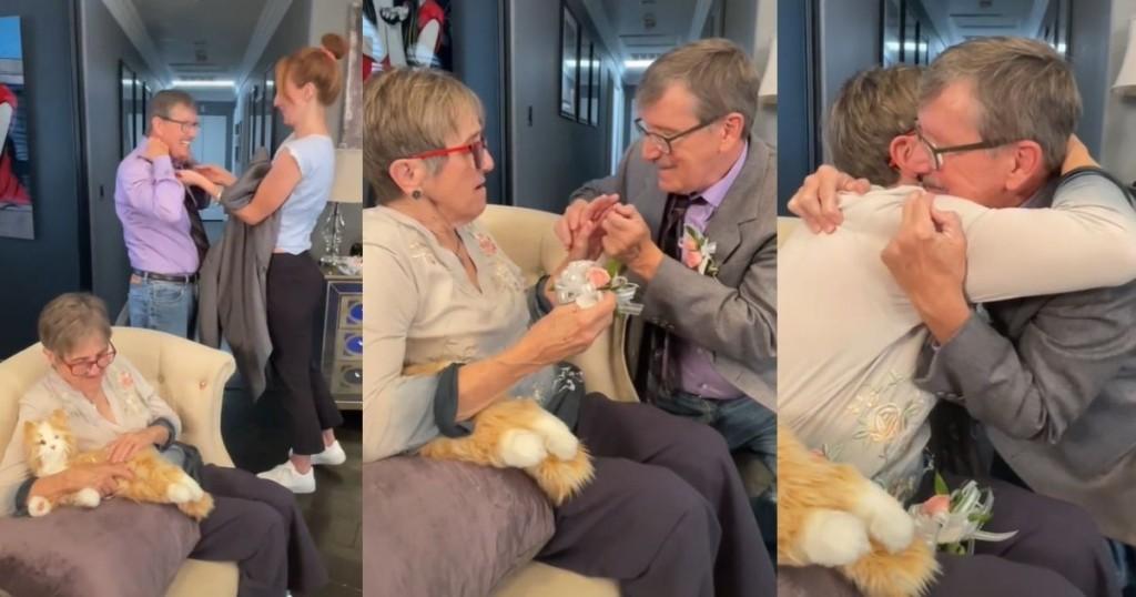 Viral Cada Semana Un Hombre Le Pide Matrimonio A Su Esposa Que Padece De Alzheimer