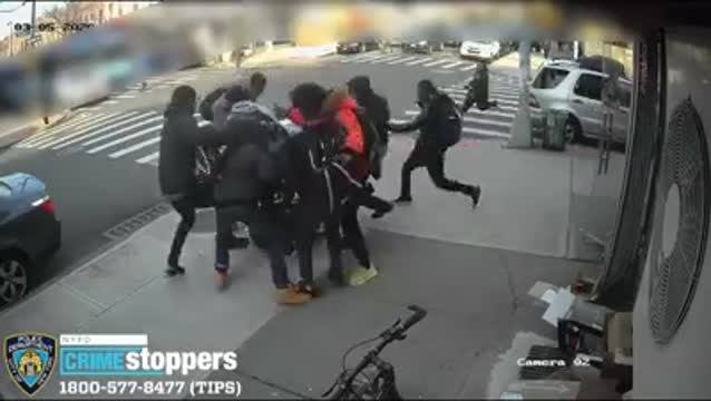Nyc Robbery Video