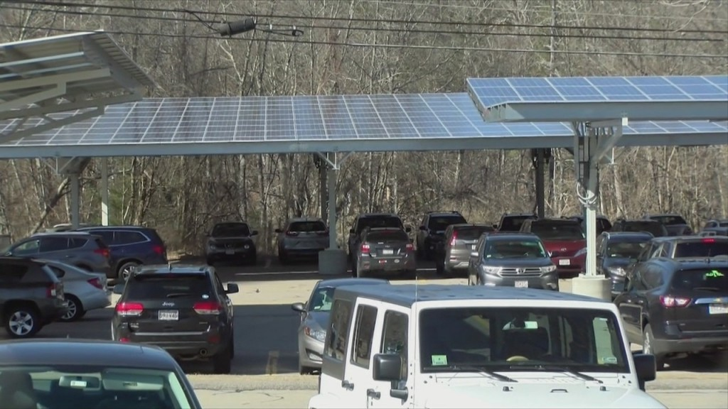 Woonsocket Considering Solar Panel Carports At Municipal Parking Lots