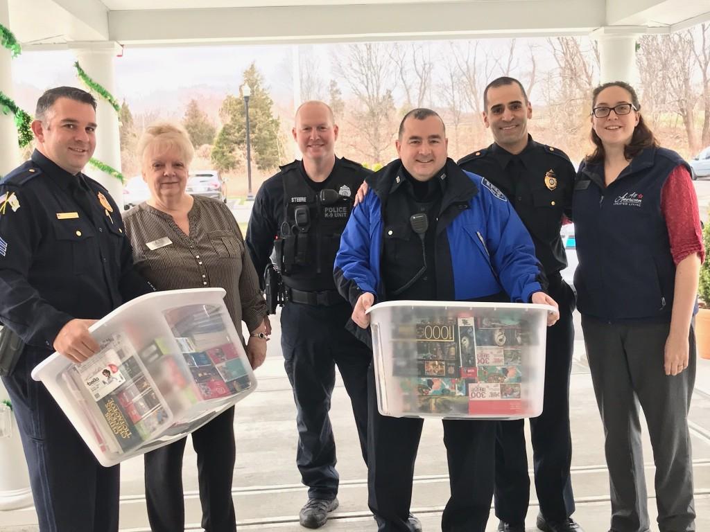 Warwick Police Donation