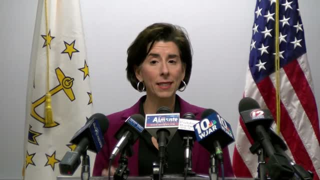 Coronavirus Outbreak: Press Conference At Ri Department Of Health
