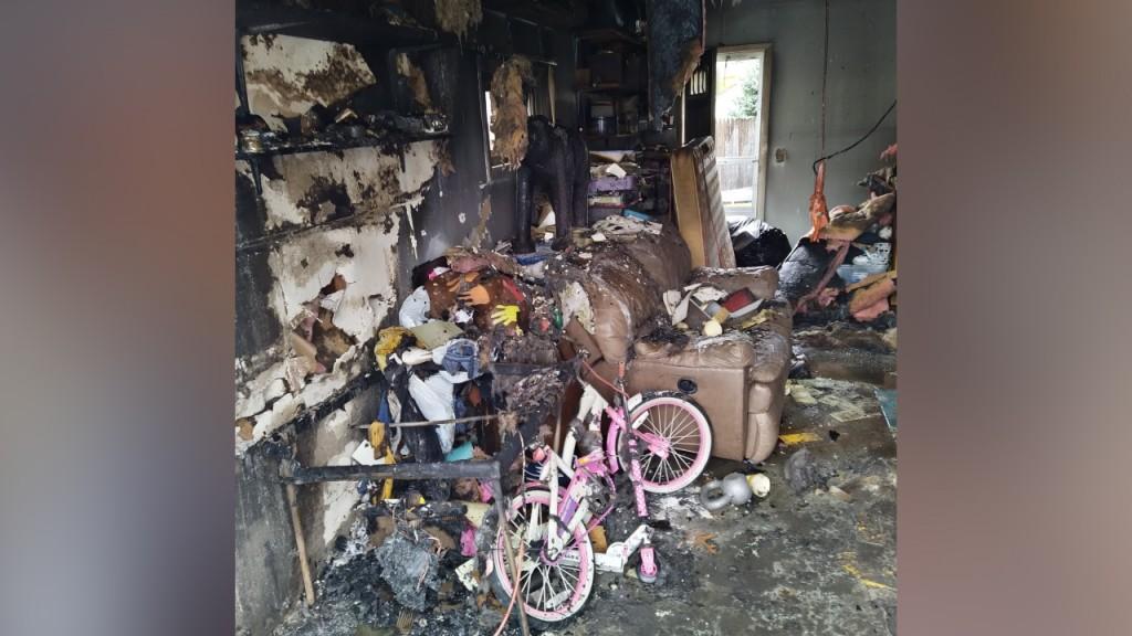 Warwick Garage Fire