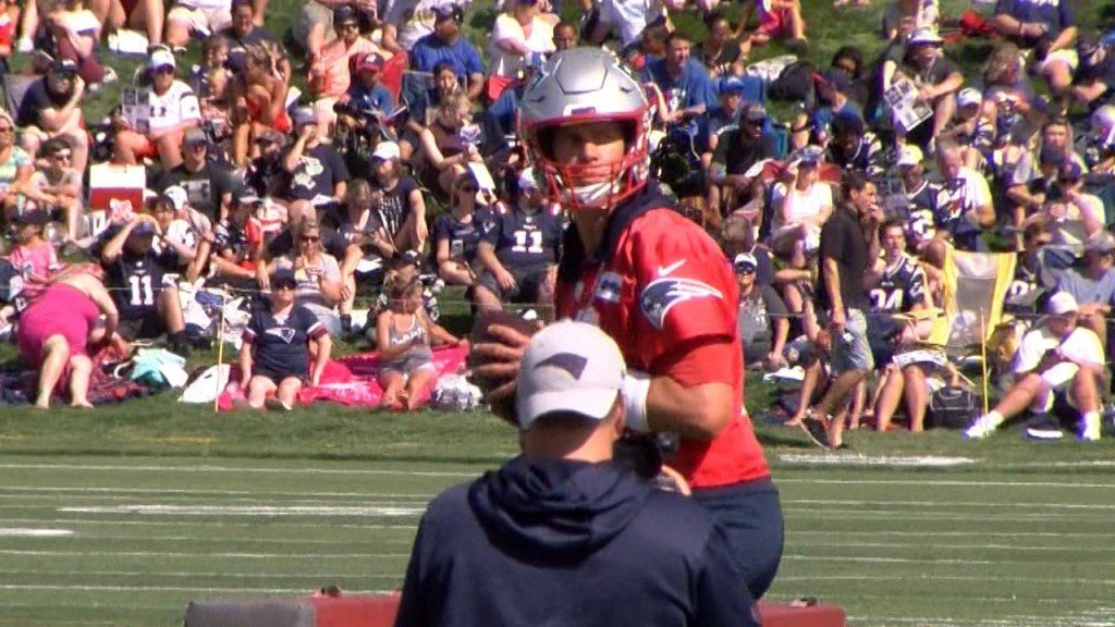 Tom Brady Camp Pic