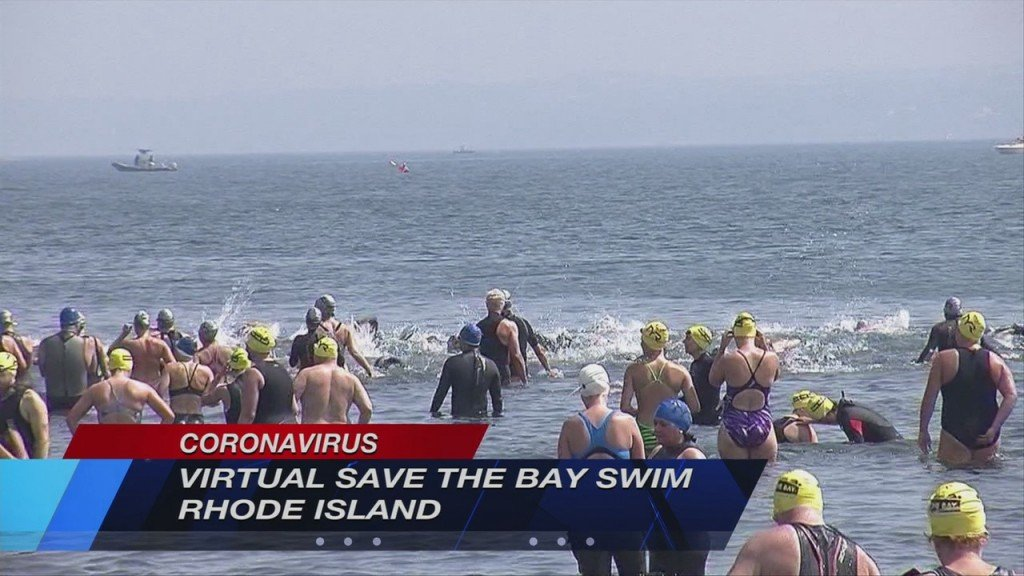 Save The Bay's Fundraiser Swim Going Virtual