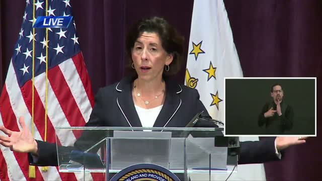 Gov. Gina Raimondo Daily Covid 19 Briefing