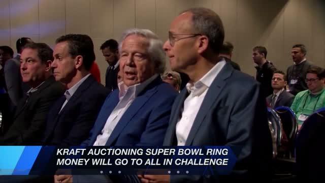 Kraft Donates Ring