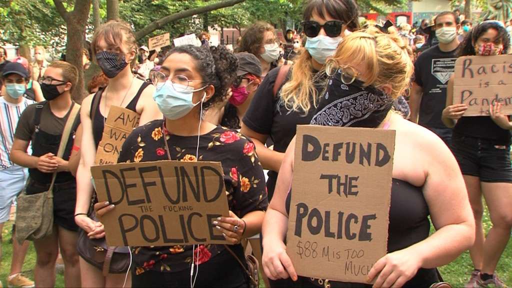 Providence City Council Committee Considers Defunding Police Following Push From The Public
