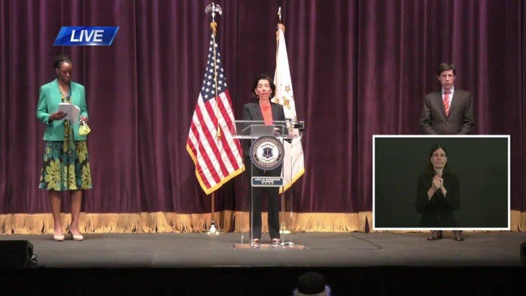 Gov. Gina Raimondo Daily Covid 19 Briefing 6 5 20