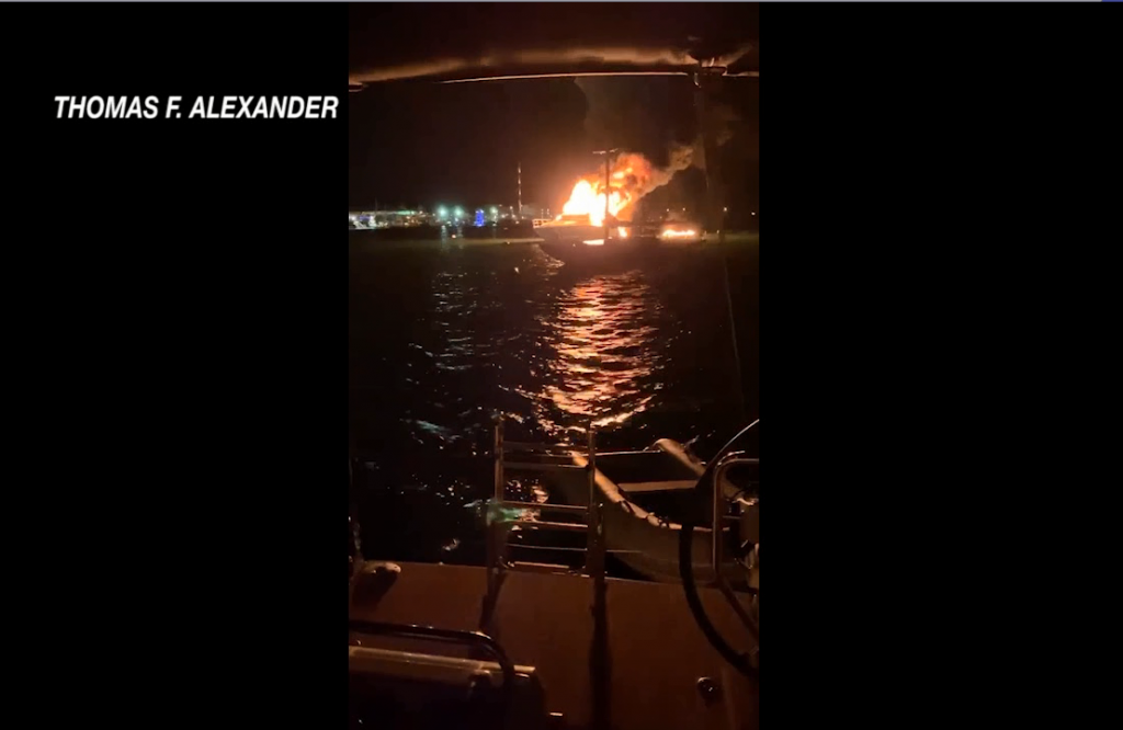 Nwpt Boat Fire