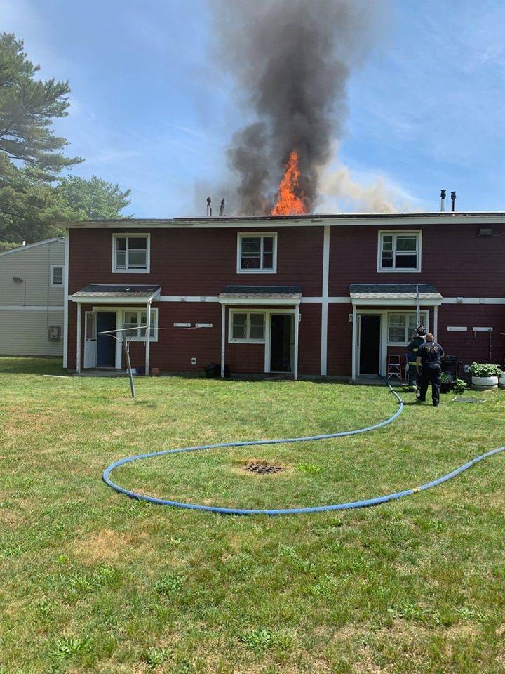 New Bedford Fire Amanda Avenue