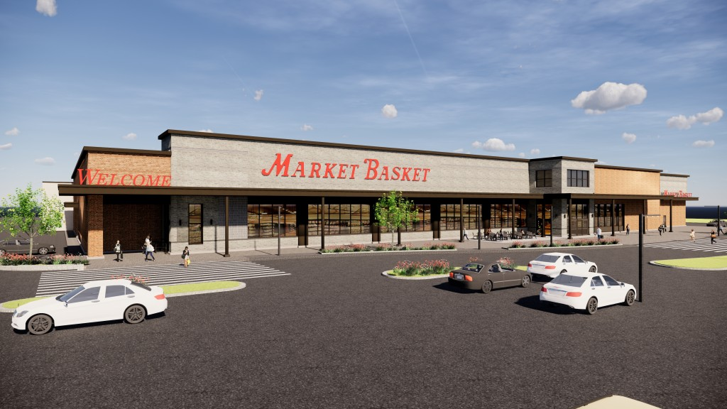 Rendering Of Warwick Market Basket
