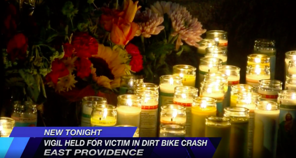 Vigil Held For Victim Of Providence Dirt Bike Crash
