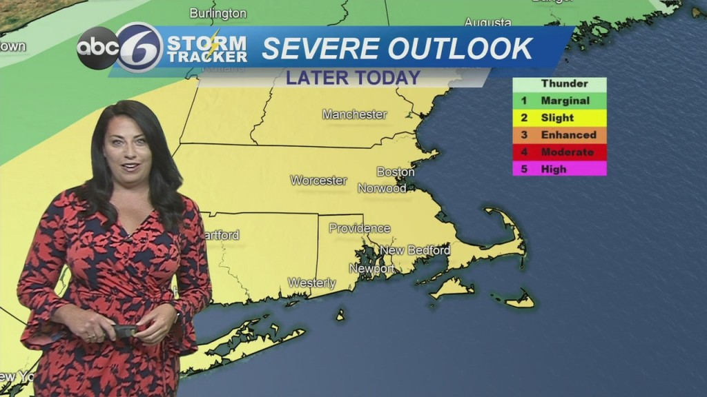Strong Storms Possible Later Today