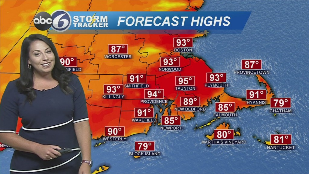 Hot & Humid Today With Isolated Storms