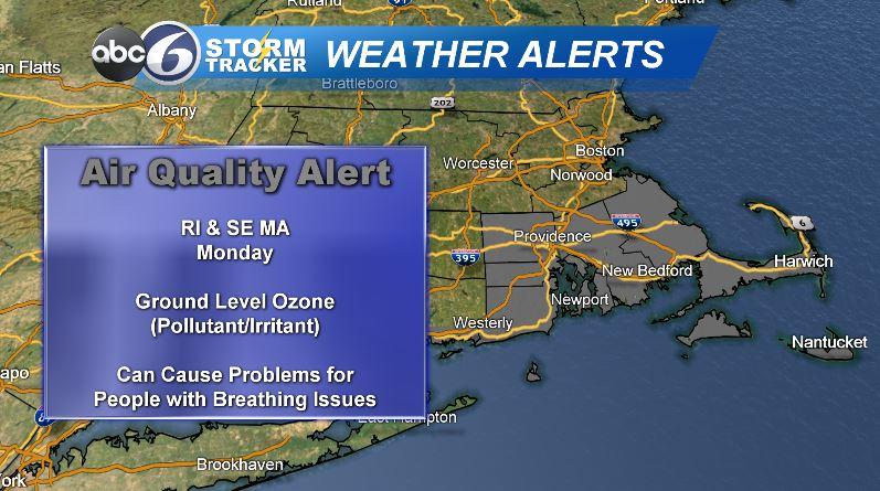 Air Quality Alert 7 27 20