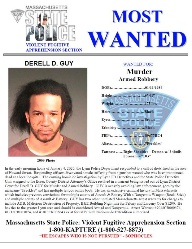 Derell D. Guy Most Wanted