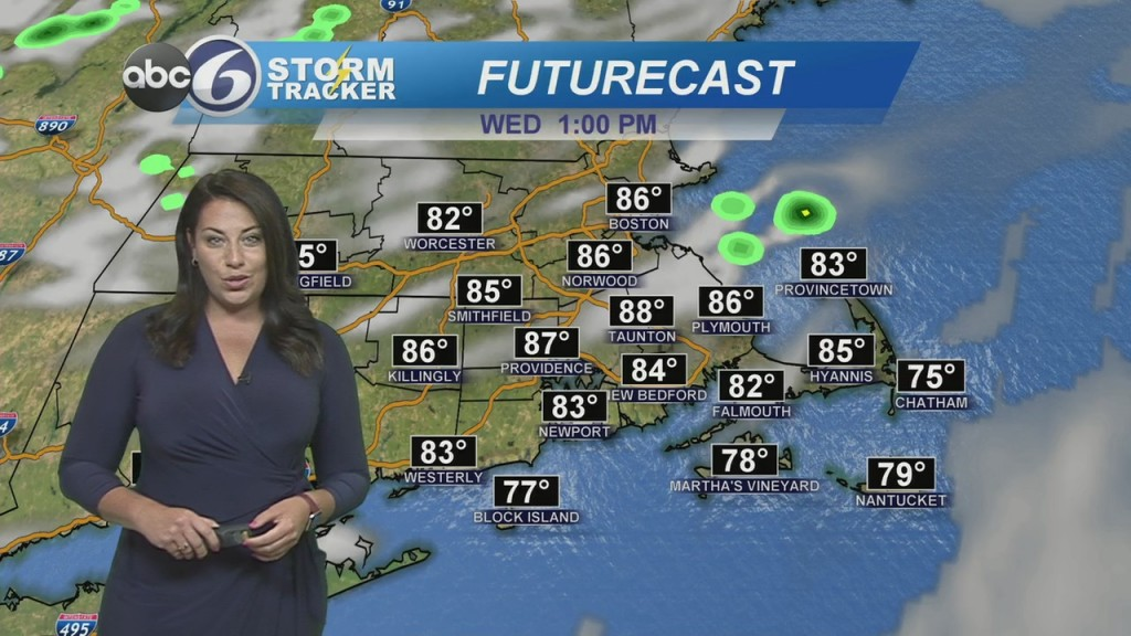 Sunny & Warm Today, High Rip Risk