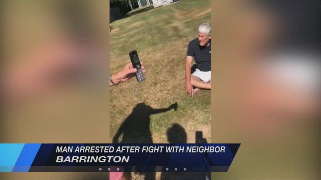 Barrington Man Arrested Following Argument With Neighbor