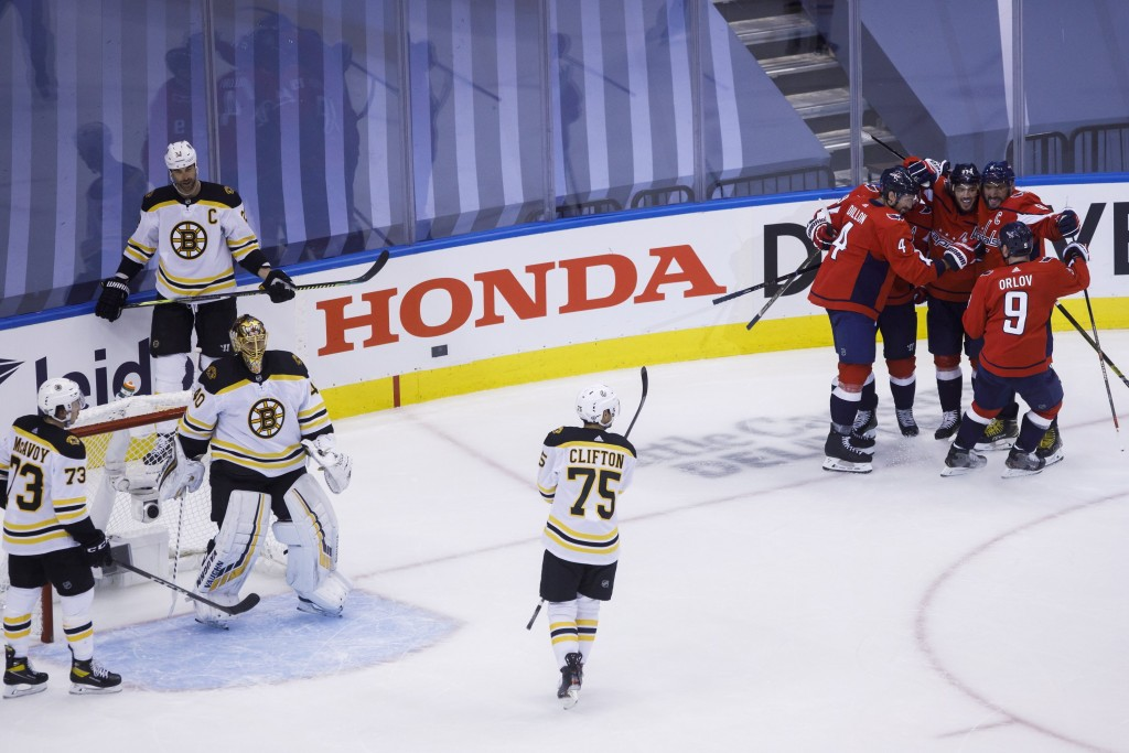 Bruins Capitals Tuukka Rask Connor Clifton