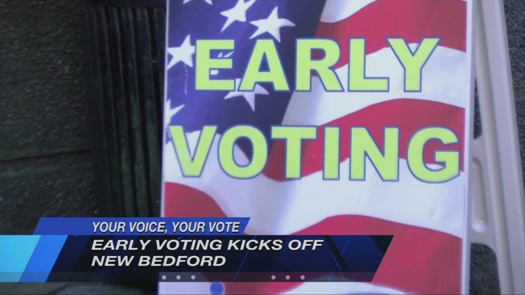 Hundreds Of Voters Show Up For First Early Voting Weekend In New Bedford