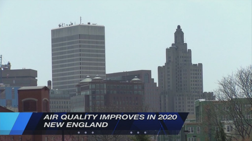 New England Sees Fewer Unhealthy Air Quality Days In 2020