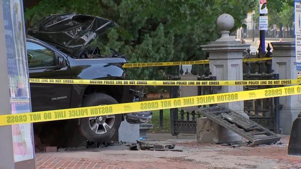 Bos Public Garden Crash