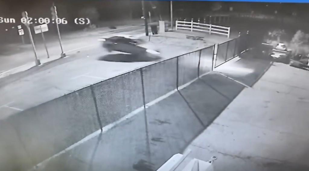 Johnston Car Thru Gate