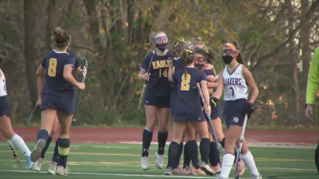 Fourth Quarter Goal Lifts Barrington Over Moses Brown In Division I Field Hockey Preliminary