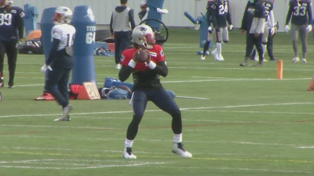 Patriots Practice Wednesday Before Holiday, Newton Ready To Duel With Murray