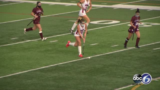 East Greenwich's Alexandra Mega Goes Coast To Coast For Game Winning Goal In Division I State Field Hockey Championship