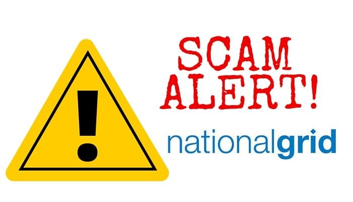 National Grid Scam Alert