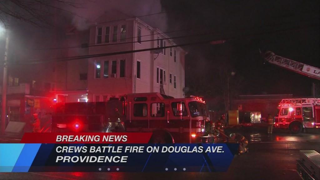 3 Alarm Fire Douglas Ave Pvd