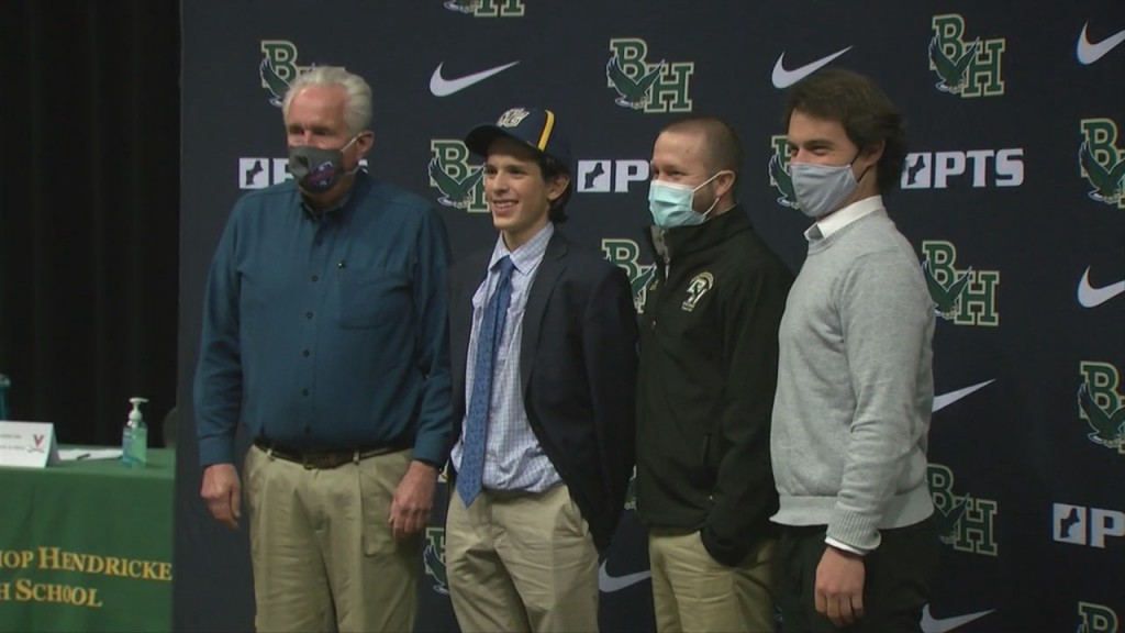 Six Hendricken Student Athletes Sign On With College Programs Wednesday