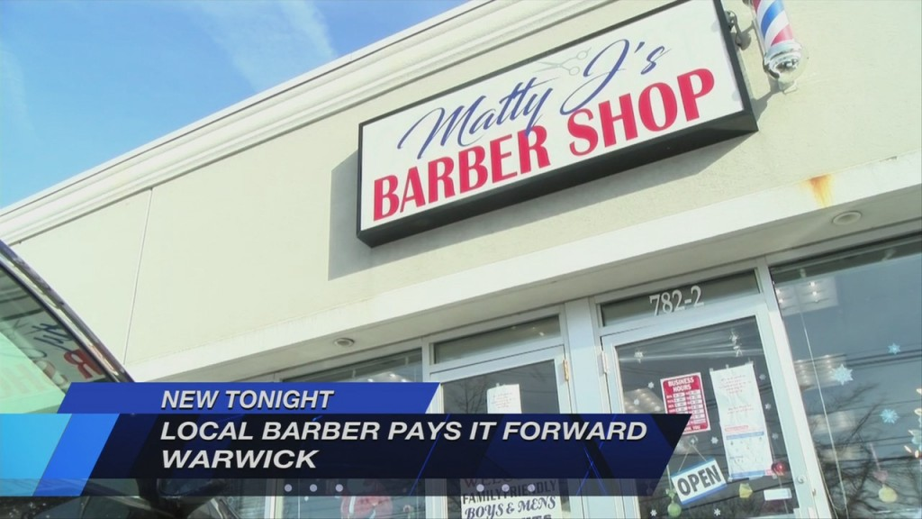 Local Barber Pays It Forward With Free Haircuts