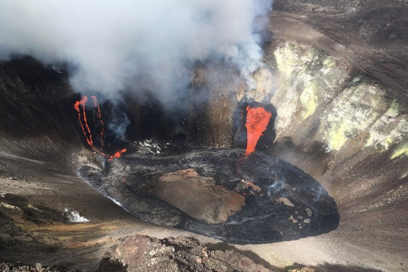 Park rangers cite visitors to Hawaii volcano eruption site | ABC6