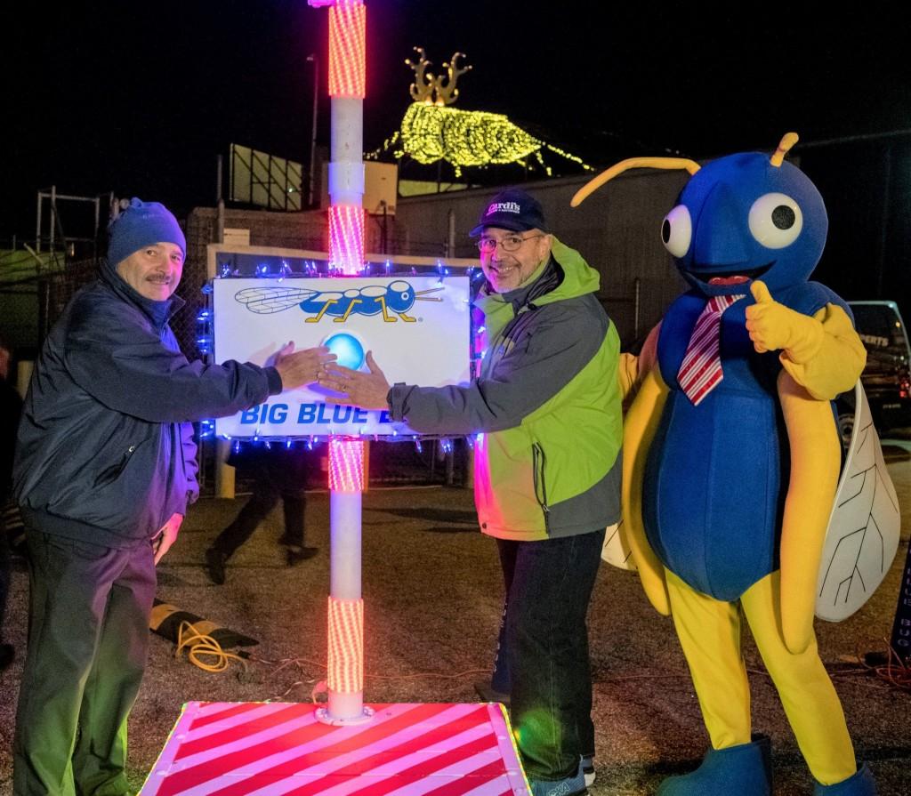 Big Blue Bug Christmas