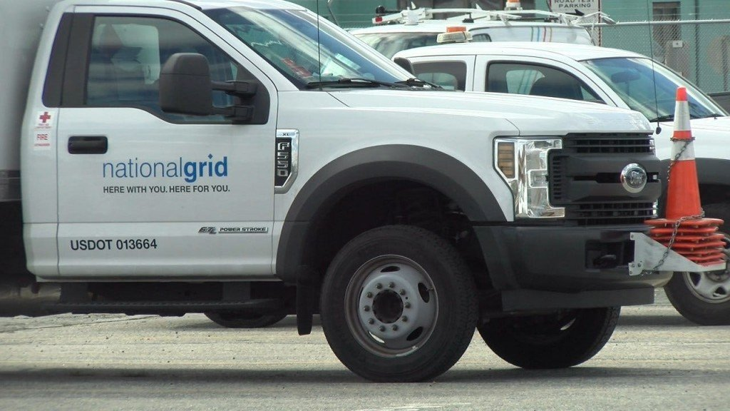 National Grid truck