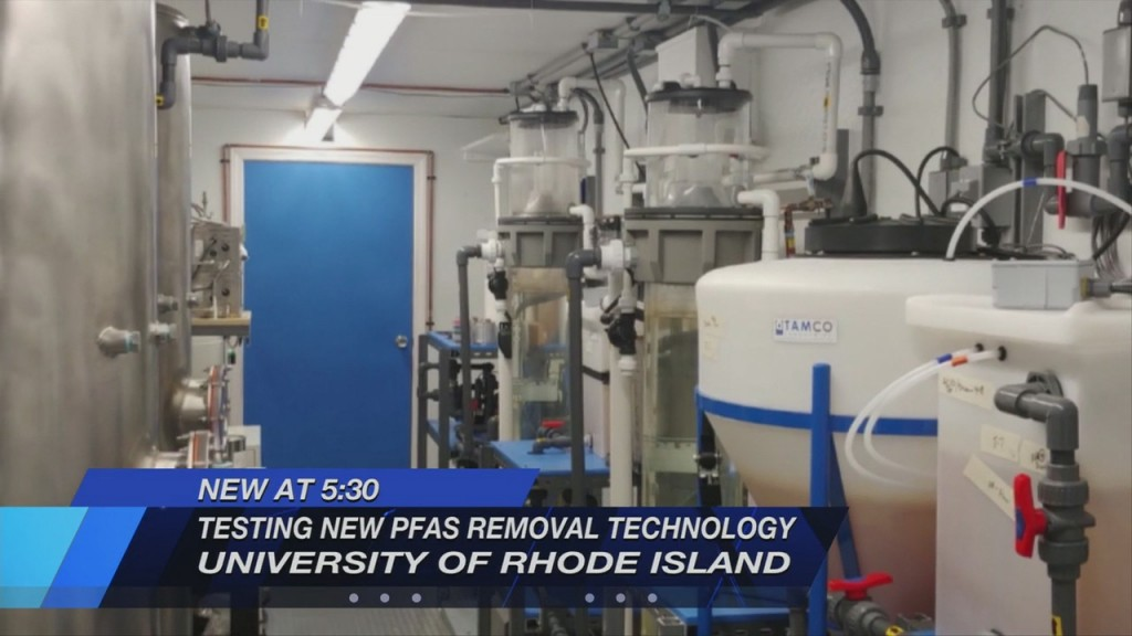 "Uri Researchers Testing New Method To Remove & Destroy Harmful ""forever Chemicals"""