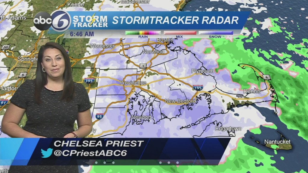 Snow Showers Continue This Morning