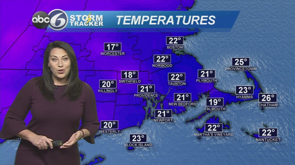 Chilly Temperatures Settling Into The Area