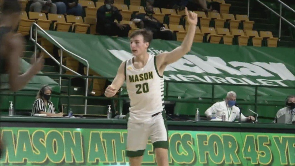 Cumberland's Tyler Kolek Ready For Rhode Island Homecoming With George Mason
