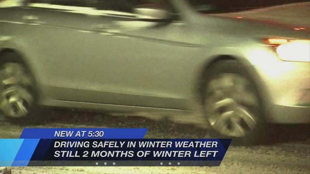 Winter's Not Over: Professional Driving Trainer Shares Winter Safety Tips