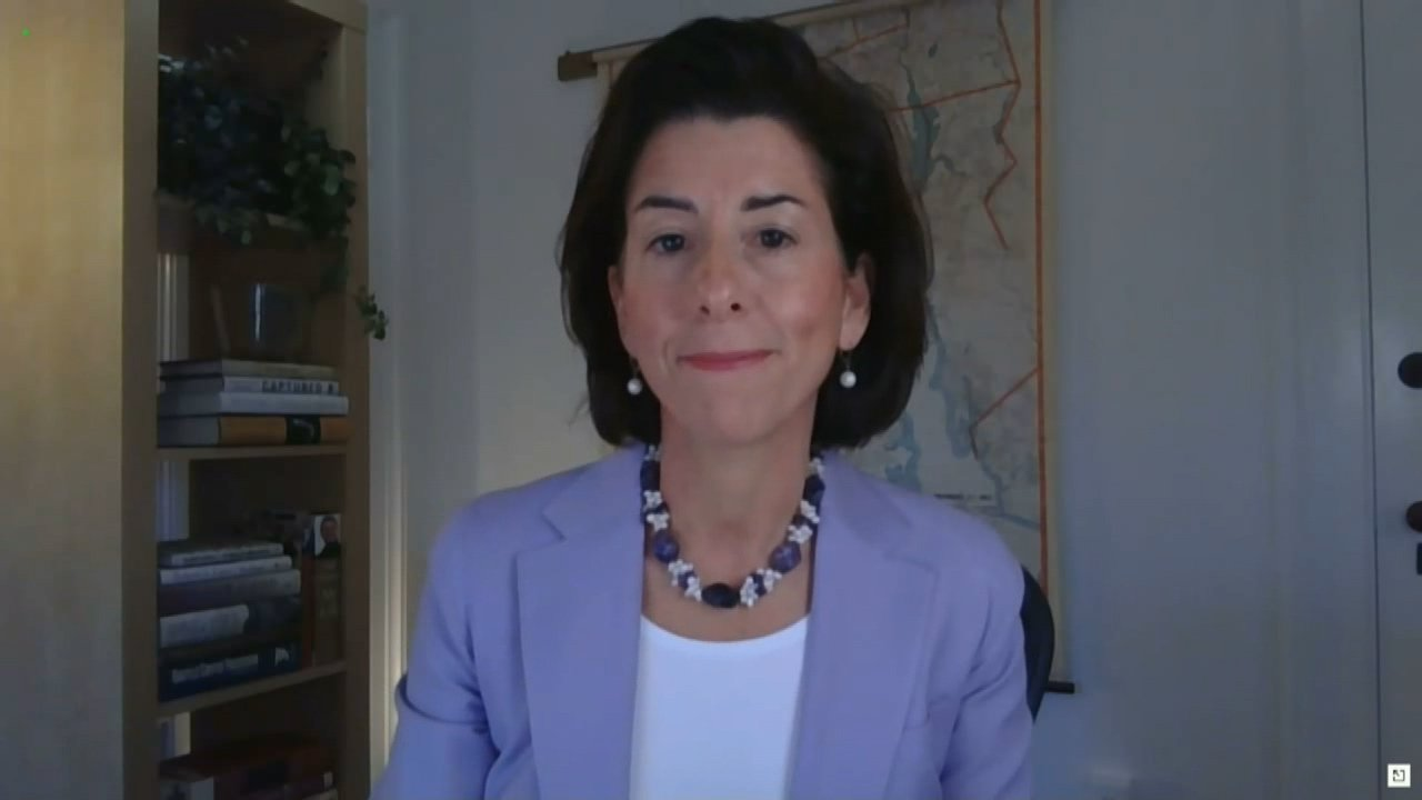 'There is no better choice': Raimondo appears before Senate Commerce Committee for confirmation hearing | ABC6