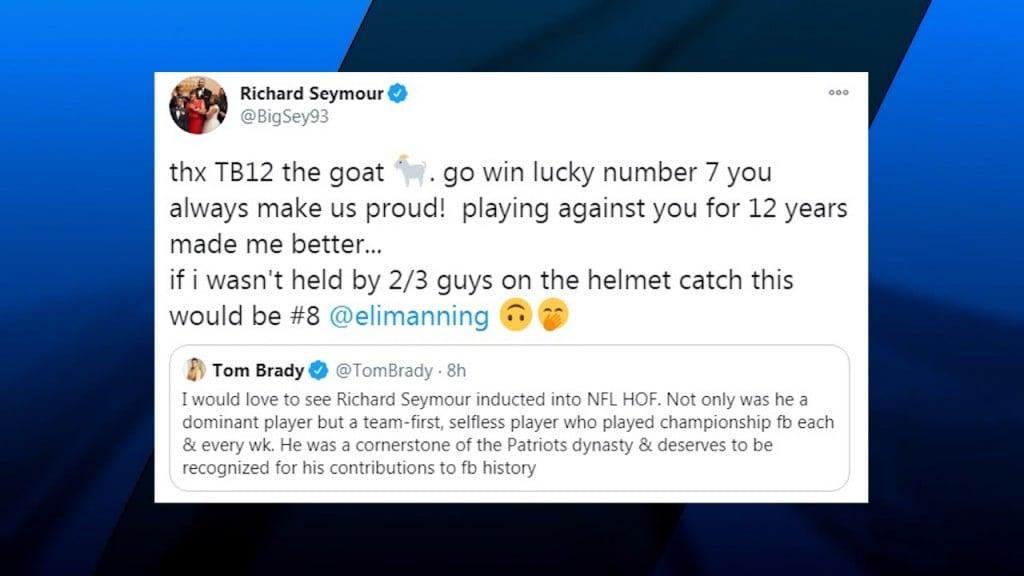 Seymour Tweet Brady 1 19