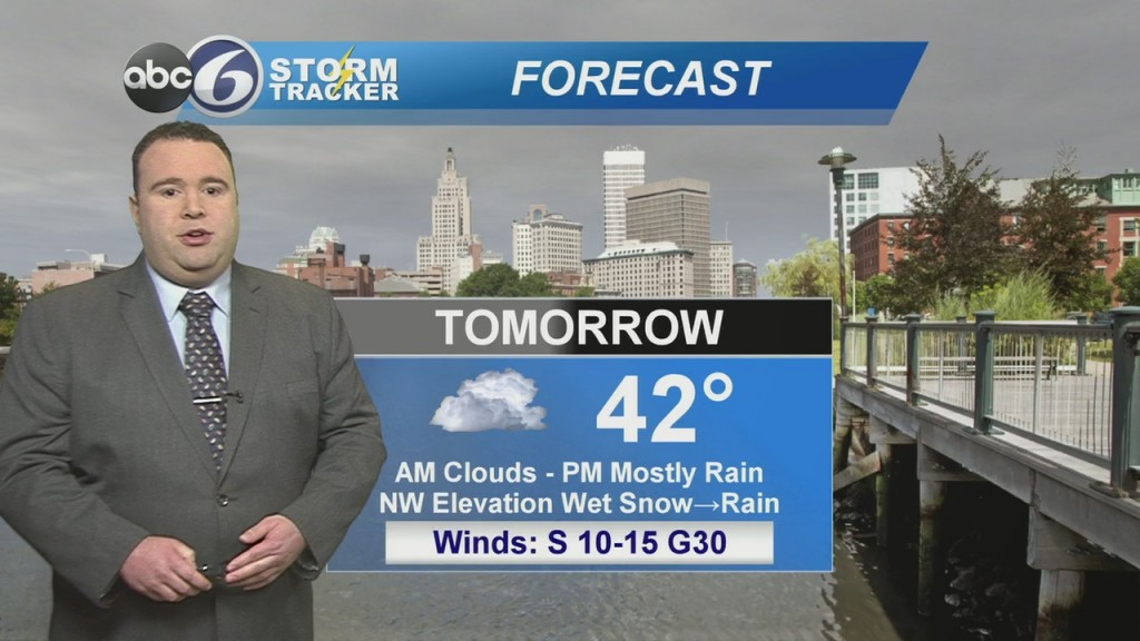 Clouds Increase Sunday Night, Rain For Most By Monday Afternoon